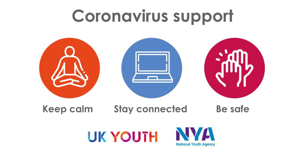Uk Youth Launches Advice For Coronavirus Uk Youth