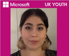 Picture of Selina, a Microsoft Apprentice